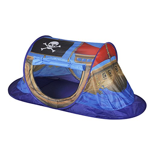 Knorrtoys 55430 - Pop Up Zelt Piratenboot