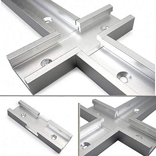 NO LOGO LT-Tool, 1Pc T-Gleiskreuzung Teile Chute General Purpose Griff Aluminium Holzverarbeitung DIY T-Track-Schnitt