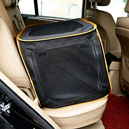 """A4Pet 27"""" Pet Car Travel Crates Carrier for Medium Dog, Puppy and Cats Carriers Dog Soft-Sided Supplies Top"""