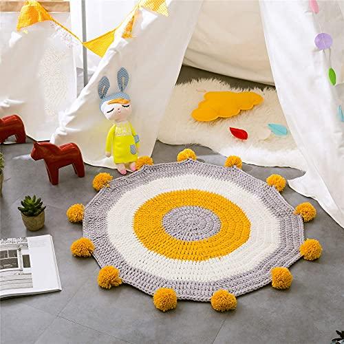 Karpetten, Vloermatten in bijpassende kleuren, Vloermatten voor kinderkamers, Handgeweven matten, Gestreepte Scandinavische stijl