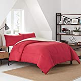 IZOD Solid Comforter Set, Full/Queen, Red