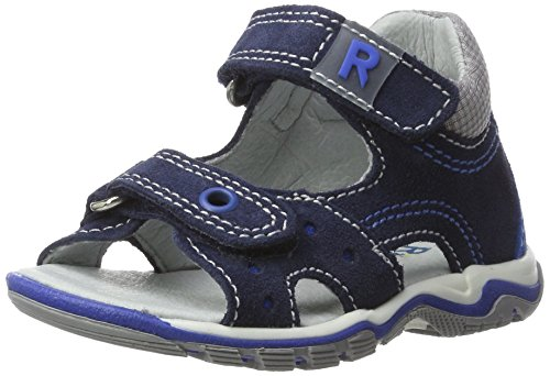 Richter Kinderschuhe Jumbo, Chaussures Marche Garçon Bébé Fille, Bleu Atlantic Lagoon, 20 EU