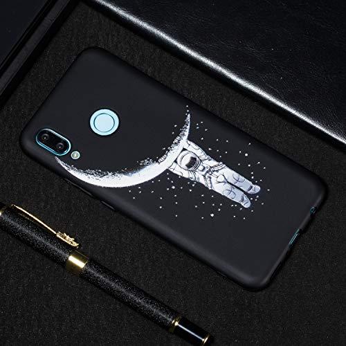 Kompatibel mit Huawei Nova 3 Hülle, Silikon Handyhülle für Huawei Nova 3 Case Stoßstange Crystal Flexible Funkelnd Anti-gelb Ultraweich Slim Ultradünn Fit Silikon Case -Monat - 5