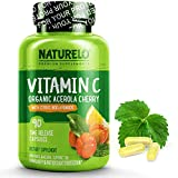 NATURELO Premium Vitamin C with Organic Acerola Cherry and Citrus Bioflavonoids...