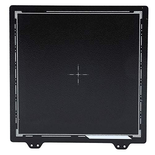 Federstahlblech, Federstahlblech mit glatter doppelseitiger Pei-Pulverplatte für Prusa/Anet/CR-20 220 x 220 mm