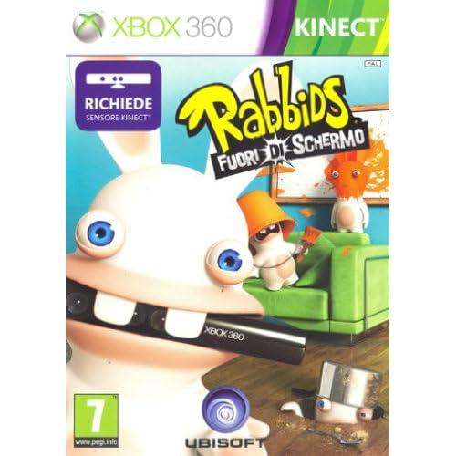 RABBIDS FUORI DI SCHERMO XBOX 360 - RICHIEDE KINECT