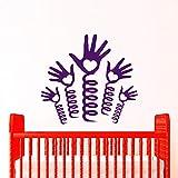 57 * 57 cm Printemps Mains Sticker Pour Enfants Chambre Belle Bébé Vinyle Décoration de La Maison...