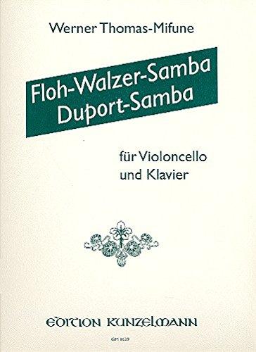 Flohwalzer-Samba und Duport-Samba für Violoncello und Klavier