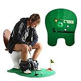 Andux WC-Golf-Set für die Toilette
