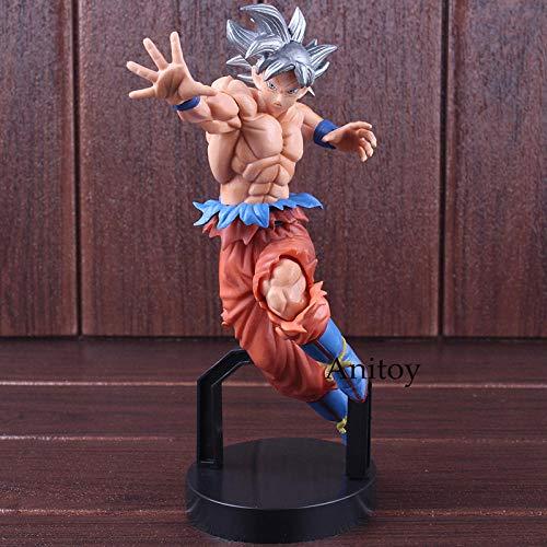 Estatuilla Dragon Ball Super Ichiban Kuji A Ultra Instinct Goku Figura Son Gokou PVC Anime Figura de colección Modelo de Juguete 20cm-en Bolsa