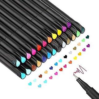 12//24 Farben Feine Spitze Farbiges Schreiben Zeichnen Markierungsstift Feine