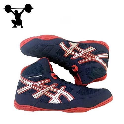 AIALTS Heren Gewichtheffen Schoenen, Professionele Worstelen Schoenen Zachte En Comfortabele Ademende Draag Training Schoenen