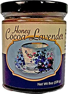 Zen Bear | Honey Cocoa Lavender | Premium Clover Honey Sweetened Organic Chocolate Cocoa with a hint of lavender | Perfect...
