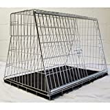 """Arrow PET WORLD 38"""" Sloping for Hatchbacks,Estates 4x4 Dog Puppy Pet Car travel training carrier crate,cage,"""