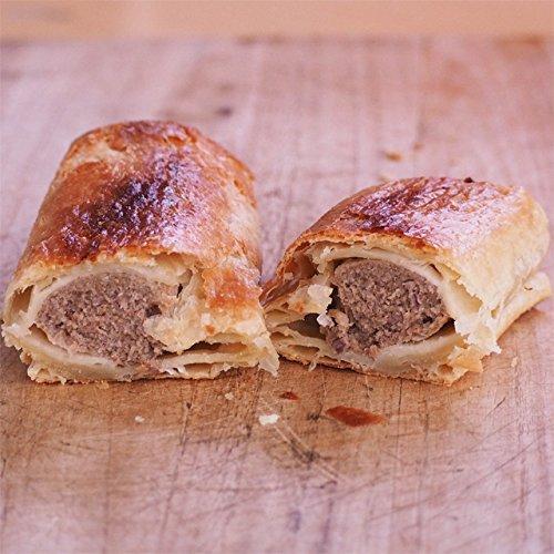 ミートガイ ソーセージロール (ソーセージミート包み) (110g) (直輸入品) ビリーズパイ Vili's Original Australian Sausage Roll