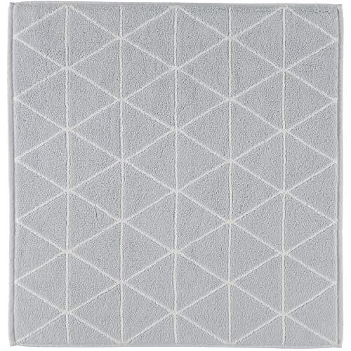 framsohn Badematte Graphics Triangle Weiß - 001 67x67 cm