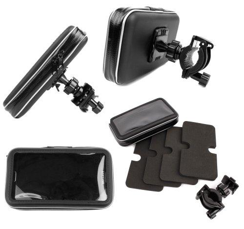 DURAGADGET Montaje Giratorio para Bici De Montaña Y Funda para Samsung Galaxy Note 2 / Note 3