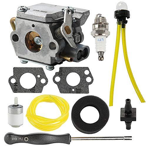 Powtol 753-04333 725r 410r Carburetor + Air Filter Tune Up Kit fits Ryobi 31cc 775r 410r 280r 790r 700r 767r 310bvr rgbv3100 Trimmer Blower 791-182875 4 Cycle Gas Blower