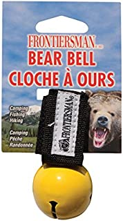 Frontiersman Bear Bell with Magnetic Silencer –Helps Prevent Startling Bears on Trail – Reduce Risk of Attack