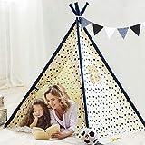 YOLEO Tenda per Bambini, Tenda Gioco per Bambini /Tenda Indiani Bambini/ Portatile Casetta...