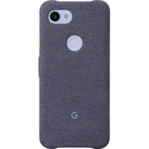 Coque Google Pixel pour Pixel 3a - Housse de Protection avec Tissu sur Mesure et Active Edge Compatible - Officiel Google Pixel - Seascape