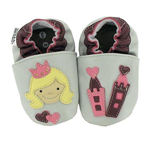 HOBEA-Germany Chaussures bébé Fille, modèle Chaussures:Princesse, Chaussures de Taille:22/23 (18-24 Monate)