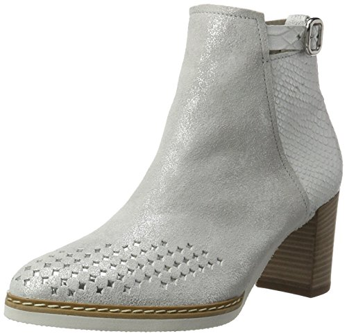 Gabor Shoes Damen Comfort Kurzschaft Stiefel, Weiß (Ice/Off-White 92), 39 EU