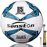 センストン (Senston) サッカーボール 4号 5号 サッカー 中学 一般 大学 高校用 練習球 検定球 フットサル