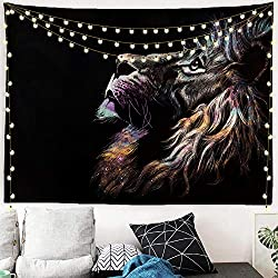 Lion Wall Tapestry For Guys