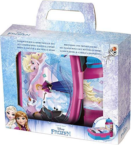 Pausenset Disney Frozen, 2-teiliges Set im Geschenkkarton