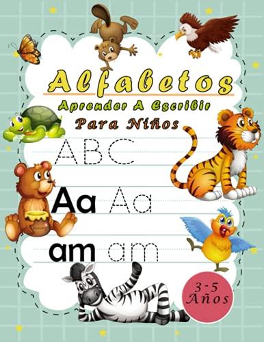 Alfabetos Aprender A Escribir ABC Para Niños 3-5 Años