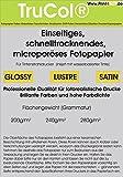 100 Feuilles Quickdry glacé Premium Photo Paper 280g /m² à Jet d'encre A4 9600 dpi. Séchage Rapide, Micro Papier Photo Poreuse. Qui est commercialisé notamment par Une Importante Discounter Allemand.