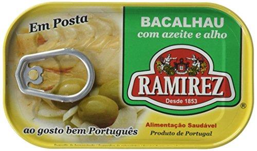 Salade de Morue à lHuile dOlive/Ail 120 g Ramirez - Lot de 10