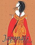 Japonais: Livre de Coloriage: Coloriages pour adultes et adolescents avec des thèmes pour les amoureux du Japon