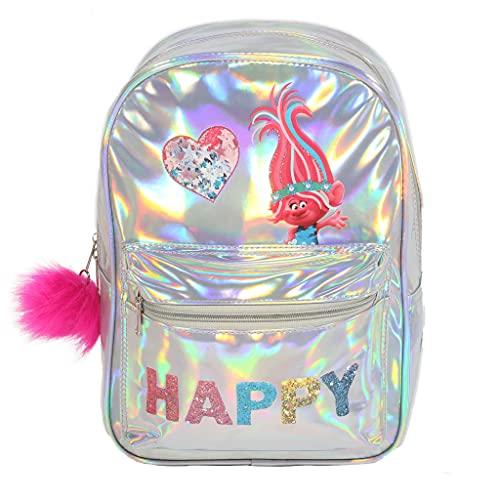 Trolls amapola feliz Mochila niñas, mercancía oficial   Volver a la escuela, Mochila los, niños Bolsas, Idea del regalo de cumpleaños para niñas