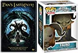 From The Mind Of Guillermo Del Toro: Funko Pop! + Movie Bundle- Pan's Labyrinth + Funko Pop! Movies 603 Fauno 2 Items