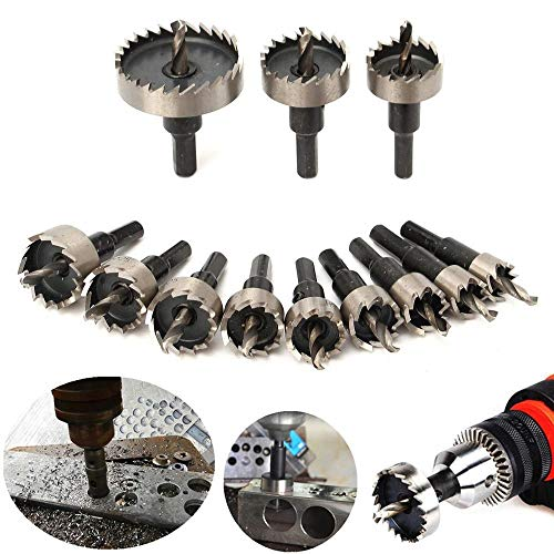HXZX 1pcs M35 12mm-65mm Carbide Tip Hole Saw Drill Bit for Metal/Alloy/Iron/Stainless Steel Cutting Drilling Hole Opener (Size : 32mm)