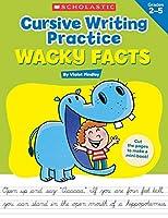 Wacky Facts Cursive Writing Practice
