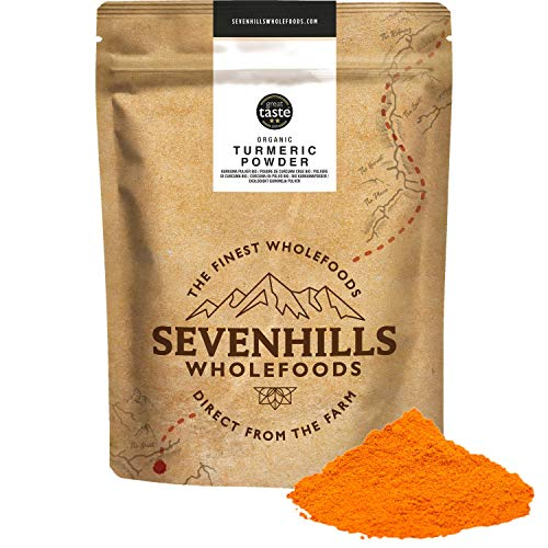Sevenhills Wholefoods Organic Turmeric Powder 1kg