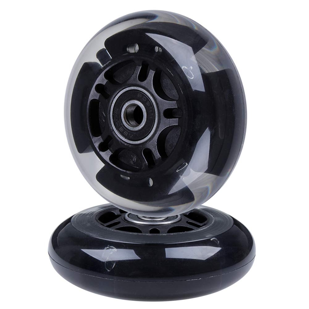 AOWISH Bearing Flashing Adjustable Rollerblades