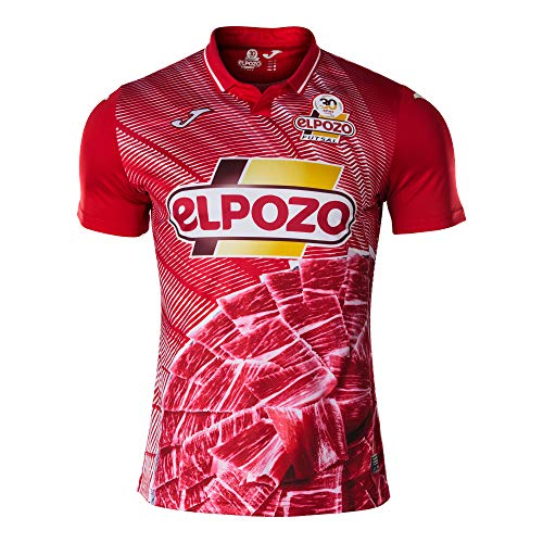 Joma ElPozo Murcia FS Primera Equipación 2020-2021, Camiseta, Rojo, Talla S