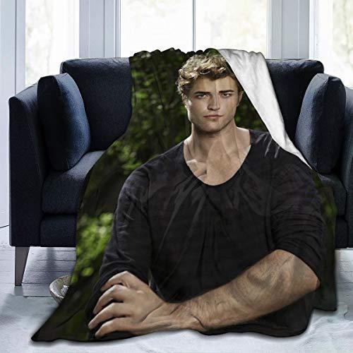 HOJJP Edward Cullen-Twilight Super Soft Blanket, Light Plush Bed Blanket, Suitable for Adults and Children to Use 60'' X50