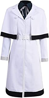 Halloween Yonebayashi Saiko Dress Cosplay Costume Halloween White Uniform Suit Outfit Full Set