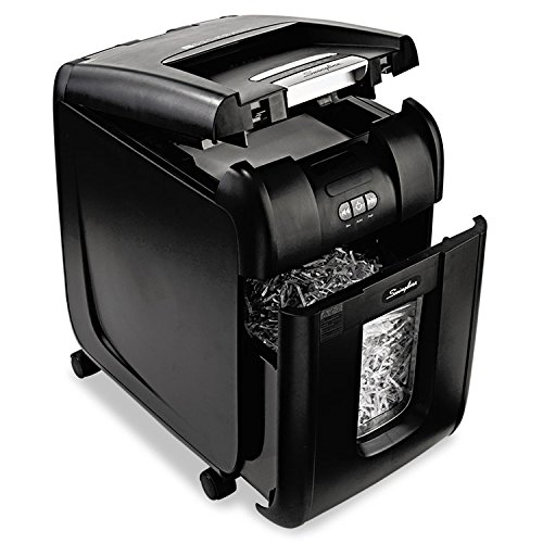 Lowest Prices! SWINGLINE 1703093 Stack-and-Shred 230XL Auto Feed Super Cross-Cut Shredder Value Pack...