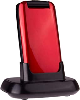 TTfone Star TT300 - Red with Dock Charger