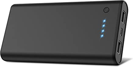 モバイルバッテリー 大容量 24800mah 薄型 小型 急速充電 2USB出力ポート 残量表示 Android/iPhone/iPad対応 バッテリー 携帯充電器