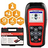 Autel MaxiTPMS TS501 TPMS Relearn Tool OBD2 Scanner, Upgraded Version of TS408 with Program MX-Sensor, TPMS Diagnostic, Sensor Activation, Key Fob Testing, Relearn by OBD Function Diagnostic Scan Tool