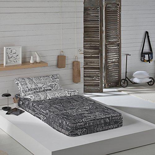 Munich Jet Grey - Saco nórdico cama 90 cm relleno
