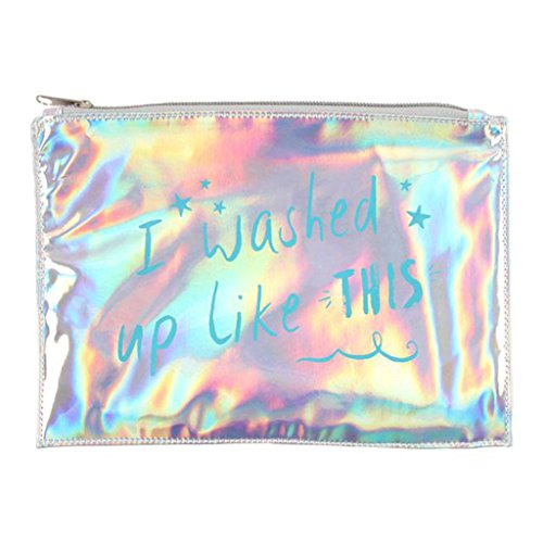 I WASHED UP LIKE THIS IRIDESCENT MAKE UP WASH BAG FROM THE MERMAID REANGE