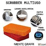Zoom IMG-2 liflicon2 spugne scrubber abrasive antigraffio